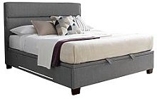 Tokyo Ottoman King Size Storage Bed With Usb