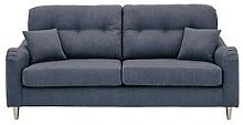 Toleno Fabric 3 Seater Sofa