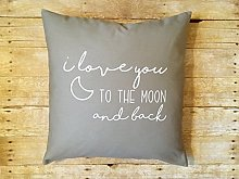 Toll2452 I love you to the moon and back Nursery