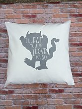 Toll2452 Kid Pillow Cover 18 x 18 inch 45 x 45cm