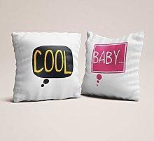 Toll2452 Throw pillow set of 2 designer home decor