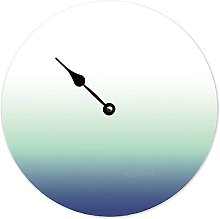 Toll2452 Tide Clock Gradient-white-Teal-Navy Blue