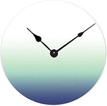 Toll2452 Wood Clock Round Wooden Clock