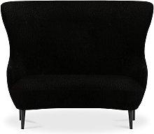 Tom Dixon - Wingback Sofa Black Leg Storr 0157