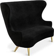 Tom Dixon - Wingback Sofa Brass Leg Cassia 09