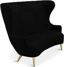 Tom Dixon - Wingback Sofa Brass Leg Storr 0157