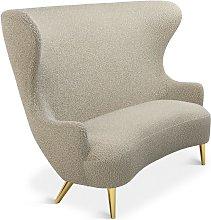 Tom Dixon - Wingback Sofa Brass Leg Storr 0501