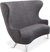 Tom Dixon - Wingback Sofa Chrome Leg Alchemy 0202