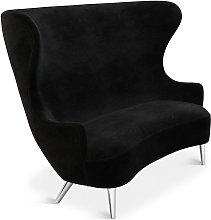 Tom Dixon - Wingback Sofa Chrome Leg Cassia 09