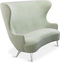 Tom Dixon - Wingback Sofa Chrome Leg Cassia 13