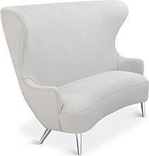 Tom Dixon - Wingback Sofa Chrome Leg Mollie Melton