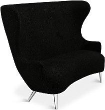 Tom Dixon - Wingback Sofa Chrome Leg Storr 0157