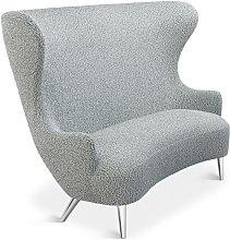 Tom Dixon - Wingback Sofa Chrome Leg Storr 0612