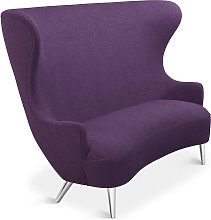 Tom Dixon - Wingback Sofa Chrome Leg Tonica 2 0672