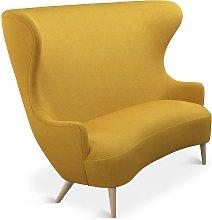 Tom Dixon - Wingback Sofa Natural Leg Melange Nap