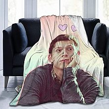Tom Holland Throw Blankets Microfiber Fleece