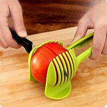 Tomato Lemon Slicer Fruit Cutter with Long