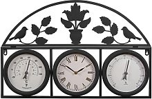 Tomlin Garden Wall Clock Sol 72 Outdoor