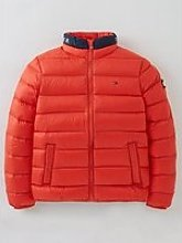 Tommy Hilfiger Unisex Light Down Jacket - Red