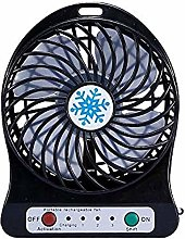 TOMMY LAMBERT Mini Desk Fans USB Rechargeable