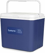 Tomons Cool Box Portable Cooler, 33L Insulated