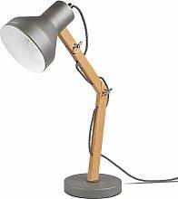 Tomons LED Desk Lamp Wood Swing Arm, Table Lamp,
