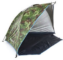 Tomshoo - Fishing beach tent camouflage
