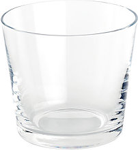 Tonale Water glass by Alessi Transparent
