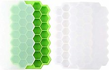 Tong Yue 2 of Silicone Cute Hexagon Ice Cube Trays
