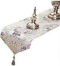 Tong Yue Luxury Jacquard Fabric Table Runners With