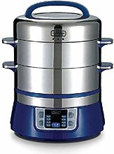 TONGSH Electric Food Steamer 304 Stainless Steel