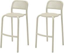 Toní Barfly Bar chair - / H 82.3 cm - Set of 2 /