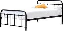Tonquin Bed Frame with Mattress Borough Wharf