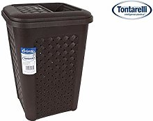 Tontarelli Bathroom Bin Side Opening 10L Arianna