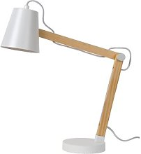 Tony 69cm Table Lamp Lucide Shade colour: White