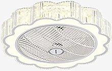 TOOED Ceiling Fan with Lighting, Fan LED Light,
