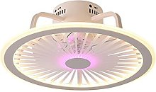 TOOED Ceiling Light Is Modern And Simple, LED Fan