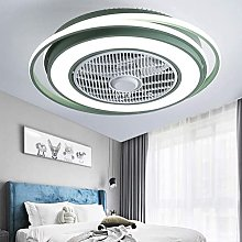 TOOED LED Ceiling Fan Quiet with Remote Control