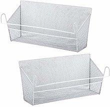 TOOGOO Bunk Bed Storage Basket,Dormitory Bedside