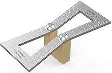 TOOGOO Dovetail Marker, Hand Cut Wood Joints Gauge