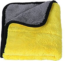 TOOGOO(R) Ultra Soft Coral velvet Car Cleaning
