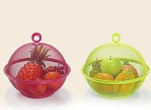 TOOGOO Random color Mesh Iron Fruit Basket Storage