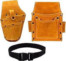 Tool Bag Organiser Leather Waist Tool Pack