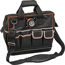 Tool Bag with Padded Shoulder Strap and Handles