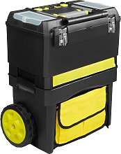 Tool box Johnny with wheels and carry handle -
