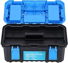 Tool Box, PP Plastic Electrician Suitcase Double