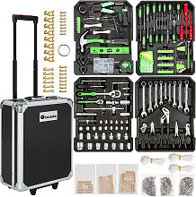Tool box trolley 1200 PCs. - black
