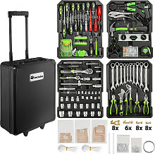 Tool box trolley 898 PCs - black