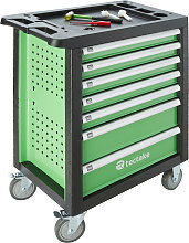 Tool box with wheels and tools 1199 PCs. - green