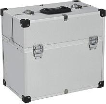 Tool Case 38x22.5x34 cm Silver Aluminum